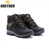 Greyder 01074 Siyah Deri Su Geçirmez Erkek Bot Sympatex 40 45