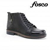 Fosco 6609 Fermuarlı Erkek Klasik Hakiki Deri Bot