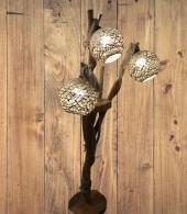 Lambader Doğal Üçlü Çam Ağacı Dallarından El...