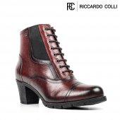 Riccardo Colli Z7046 Bordo  100 Deri Bayan Bot-2