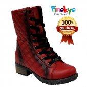 Pinokyo 9013 Kırmızı Çizme Bot