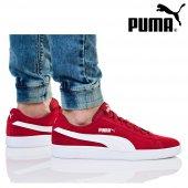 Puma Smash v2 Kırmızı Beyaz Erkek Günlük Spor 364989-06