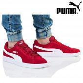 Puma Smash v2 Kırmızı Beyaz Erkek Günlük Spor 364989-06-2