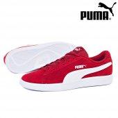 Puma Smash v2 Kırmızı Beyaz Erkek Günlük Spor 364989-06-7