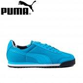 Puma Roma Basic Geometric Camo Jr Mavi 362484-03