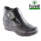 Forelli 25651 Siyah Comfort Günlük Rahat Ortopedik Bayan Ayakkabı