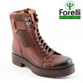 Forelli 25951 Kahve Comfort Günlük Rahat Ortopedik Bayan Ayakkabı