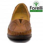 Forelli 26209 Deri Ortopedik Comfort Bayan Ayakkabı Taba-3