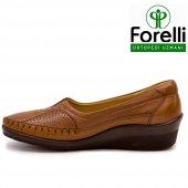 Forelli 26209 Deri Ortopedik Comfort Bayan Ayakkabı Taba-4