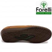 Forelli 26209 Deri Ortopedik Comfort Bayan Ayakkabı Taba-5