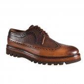Fosco 6584 Deri Klasik Erkek Ayakkabı Taba