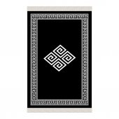 Decoling İpek 2230 Siyah Dekoratif Halı