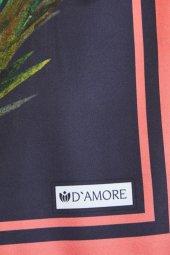 Damore Twil Desenli Günlük 190x80 Twil Siyah Şal-6