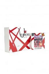 Damore 100 Ml EDP Siyah Şal Hediyeli Erkek & Kadın Parfüm Seti -3