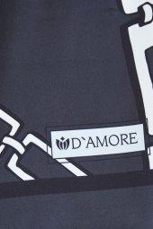 Damore 100 Ml EDP Siyah Şal Hediyeli Erkek & Kadın Parfüm Seti -5