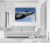 Lockheed Martin F-35 Kanvas Tablo-2