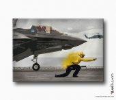 F 35 Lightning Kanvas Tablo