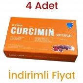 4 Adet Derman Curcumin Kurkumin Zerdaçal 30 Soft Kapsül