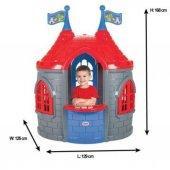 Pilsan Prenses Şato Oyun Evi Çocuk Oyun Evi Gri...