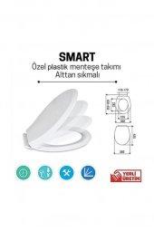 Baymera Smart Soft Close Yavaş Kapanan Amortisörlü Klozet Kapağı
