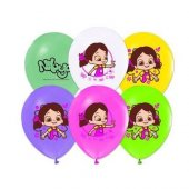 Balon Metalik Niloya 12 İnc 10lu
