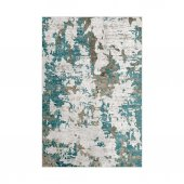 Decoling İpek 7003 Mavi Dekoratif Halı