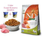 Nd Tahılsız Balkabak Domuz Ve Elma Mini 7 Kg.