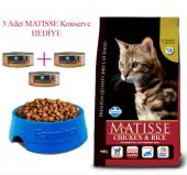 Matisse Tavuklu Pirinçli Yetişkin Kedi Maması 10 Kg