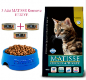 Matisse Tavuk Hindi Ve Sebzeli Yetişkin Kedi Maması 10 Kg