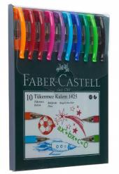 Faber Castell 1425 Tükenmez Ailesi (10 Renk)