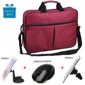 Classone Bnd305 15,6 İnç Notebook Çantası+kablosuz Mouse+tutucu (Hediyeli)