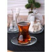 Lav Başak 6lı Çay Seti Şekerlik Hediyeli