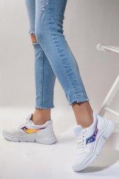 Hologram Detaylı Kadın Spor Ayakkabı