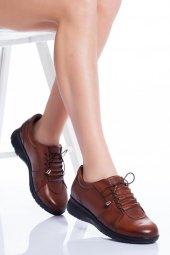 Hakiki Deri Ortopedik Kadın Ayakkabı Tmd90987