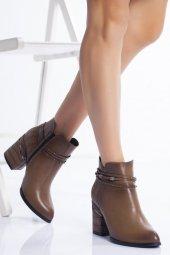 Vizon Kadın Topuklu Bot