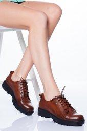 Hakiki Deri Ortopedik Kadın Ayakkabı Tmd5060