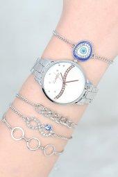 Taccatucca Kadın Kol Saati Bileklik Kombin Set
