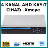 4 Kanal Kamera Kayıt Cihazı Xmeye Hybrid