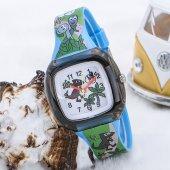 Dinazor Tasarımlı Yeşil Silikon Kordonlu Çocuk Saati St 303601