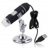 500x 8 Led Dijital, Endoskop Kamera Mikroskop