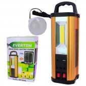 Everton Rt 902 Usb Sd Girişli Solar Işıldak