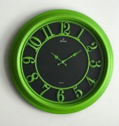 Galaxy 1963 P Premium Kabartma Rakamlı Duvar Saati Yeşil