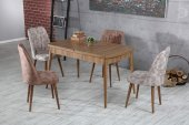 Elit Lüks Sümela Yemek Masası & 6 Polo Sandalye