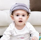 BabyJem Kafa Koruyucu Kask Gri