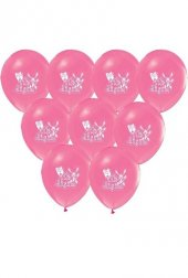 Balon Metalik İlk Dişim Pembe 10Lu