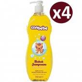 Canbebe Bebek Şampuanı 750ml X 4 Adet