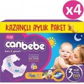 Canbebe Fırsat Paketi Bebek Bezi No 3 Midi 272 Adet (4 9kg) 68*4
