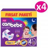Canbebe Fırsat Paketi Bebek Bezi No 4+ Maxi Plus 200 Adet (9 16kg) 50*4