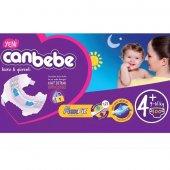 Canbebe Jumbo Bebek Bezi No 4+ Maxi Plus 100 Adet (9 16kg) 25*4