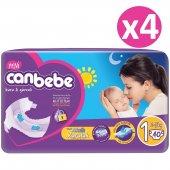 Canbebe Jumbo Bebek Bezi No 1 Newborn 160 Adet (2 5kg) 40*4